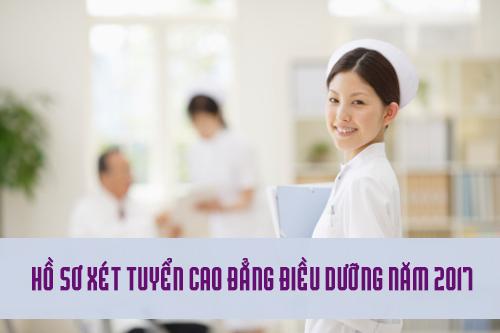Hồ sơ đăng ký xét tuyển Cao đẳng Điều dưỡng