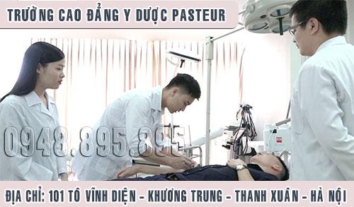 Trường Cao đẳng Y Dược Pasteur là ngôi trường trọng điểm đào tạo ngành Điều dưỡng