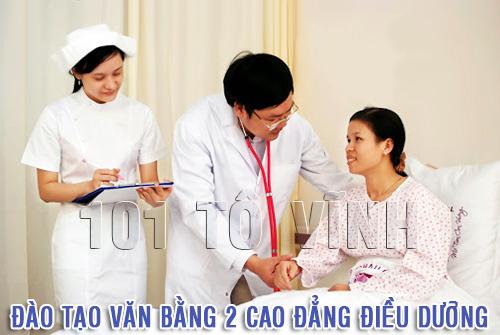 Tuyển sinh đào tạo Văn bằng 2 Cao đẳng Điều dưỡng
