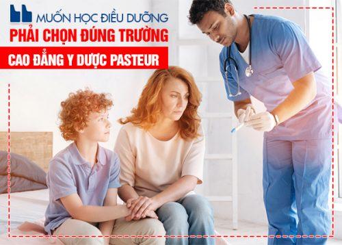 Cơ hội thực hành môn học tại Trường Cao đẳng Y Dược Pasteur lên đến 70%