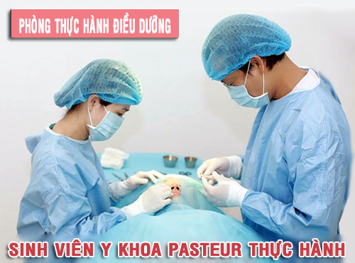 Cao đẳng Y Dược Pasteur đào tạo Điều dưỡng viên chuyên nghiệp