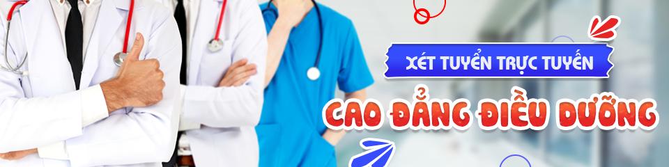 Xét tuyển trực tuyến Cao đẳng Điều dưỡng Năm 2019