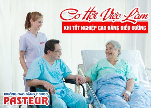 Công việc ngành Điều dưỡng không hề nhàm chán