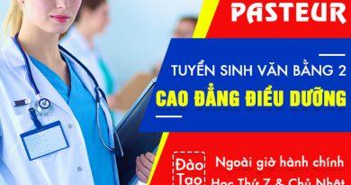 Lớp học Văn bằng 2 Cao đẳng Điều dưỡng ngoài giờ hành chính